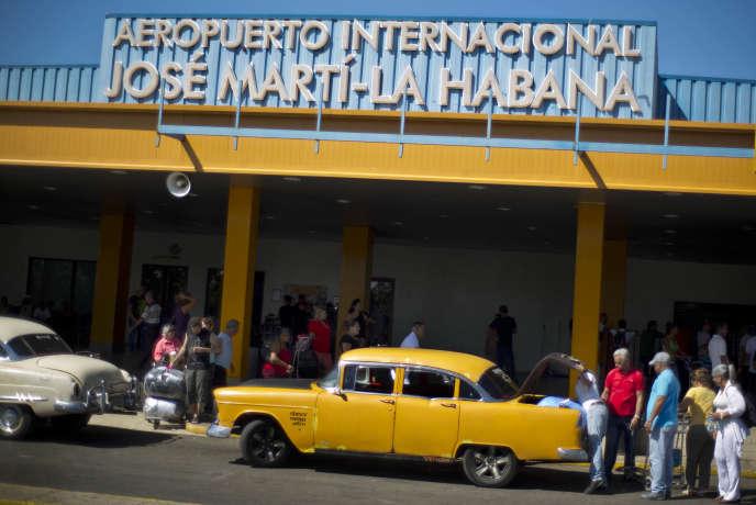 L'aéroport José Marti de La Havane le 1er septembre 2014.