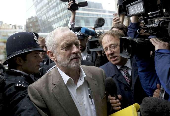 Jeremy Corbyn, le 12 juillet à Londres.
