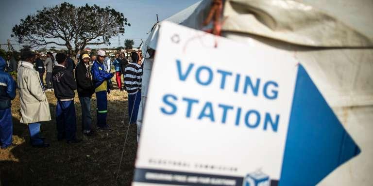 Des votants à Umlazi, dans le sud-ouest de Durban.