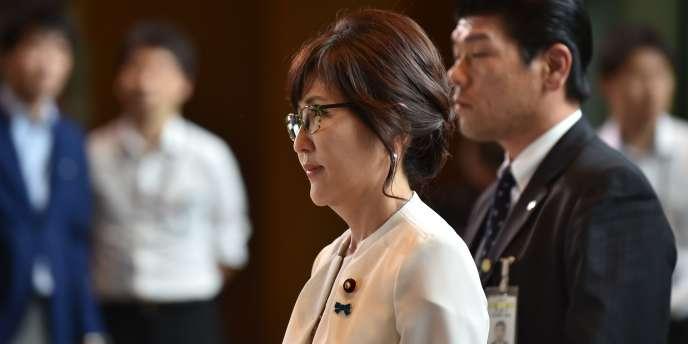 La nouvelle ministre de la défense japonaise, Tomomi Inada.