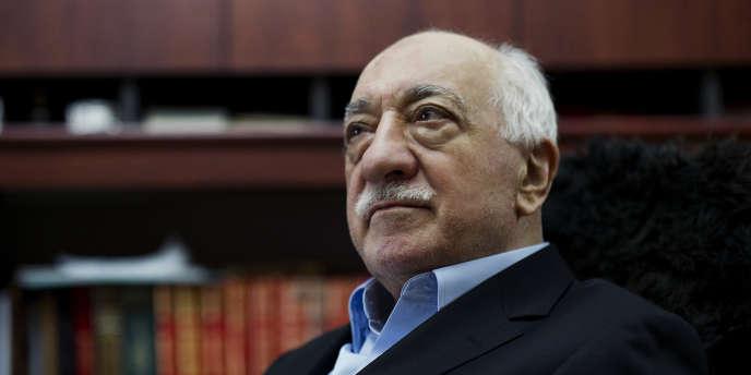 Le prédicateur exilé aux Etats-Unis Fethullah Gülen en mars 2014.
