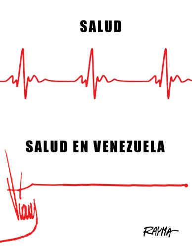 Avec son dessin paru en 2014 dans ElUniversal, la caricaturiste Rayma Suprani souhaitait dénoncer la crise des hôpitaux, et plus globalement de la médecine, au Venezuela. Mais en recopiant la signature célèbre de l'ancien président Hugo Chavez, elle commet un crime de lèse-majesté contre celui qui, depuis sa mort, est devenu «commandant éternel». Dans un pays où les médias sont muselés, elle est immédiatement licenciée ettraitée de «terroriste graphique»...Lire la suite dans l'article dePaulo A. Paranagua.