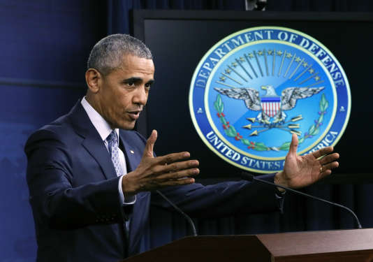 Barack Obama parle de terrorisme, le 4 août à Washington.