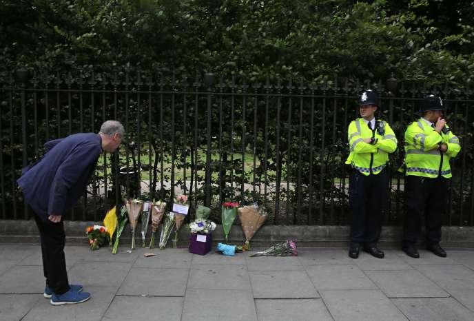 Une Américaine a été poignardée le 3août à Russell Square, à Londres.