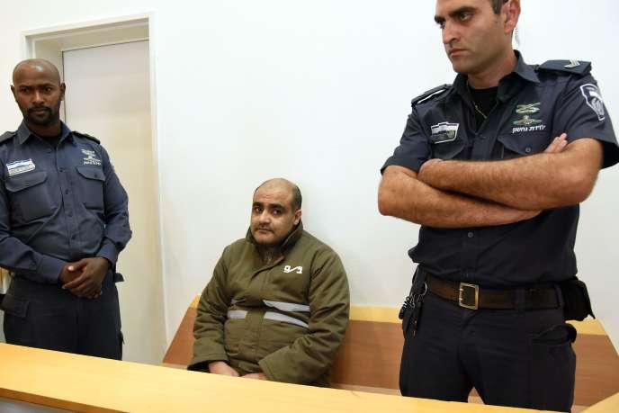 Le palestinien Mohammed Halabi est accusé par Israël d'avoir détourné des millions de dollars d'une ONG au profit du Hamas.