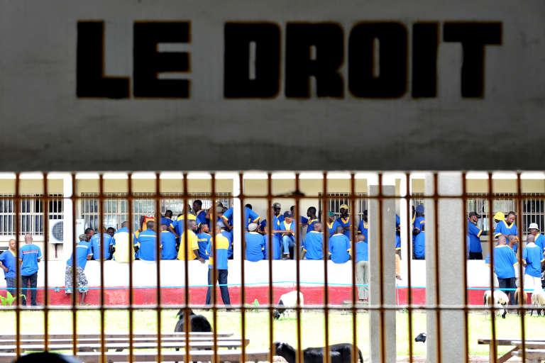 Prison centrale de Makala, à Kinshasa, où sont enfermés les prisonniers politiques