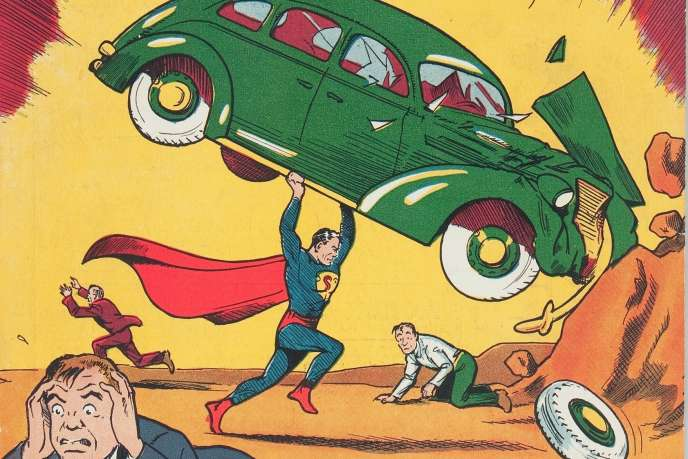 Il n'existerait que cent exemplaires de ce premier numéro d'«Action Comics».