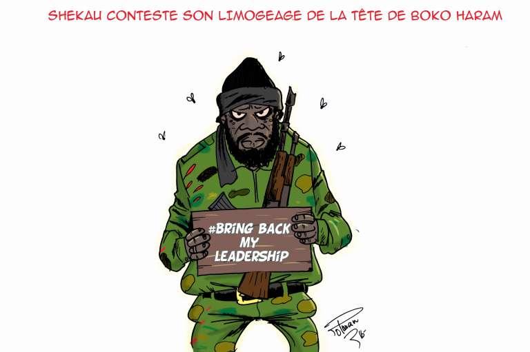 La guerre des chefs de Boko Haram vue par le dessinateur Polman