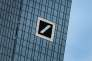 Logo de la Deutsche Bank, à Francfort.