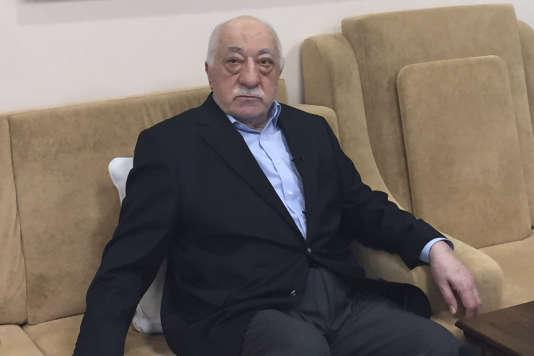 Fethullah Gülen aux Etats-Unis en 2016.