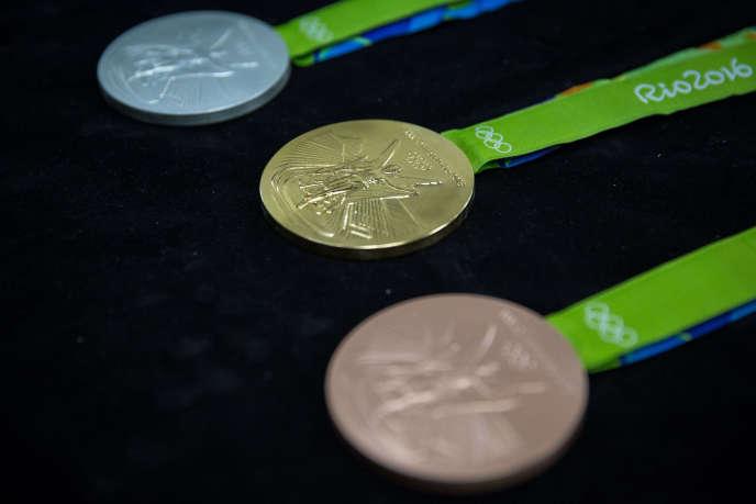Médailles olympiques.
