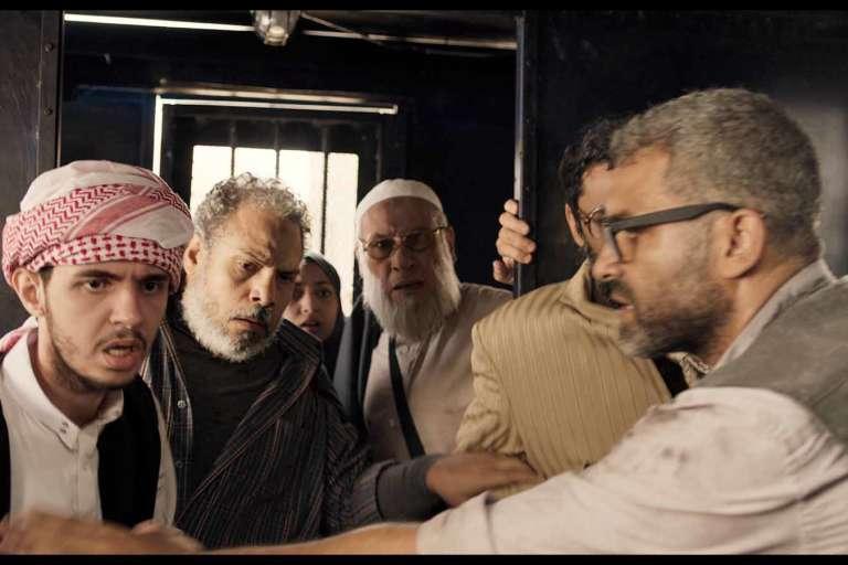Scène du film Clash de Mohamed Diab.