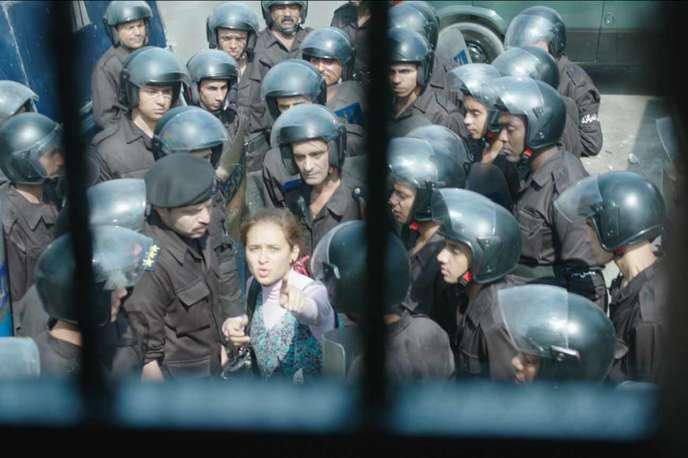 Scène du film de Mohamed Diab, «Clash».