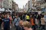 A Lille lors de la braderie le 5septembre 2015.