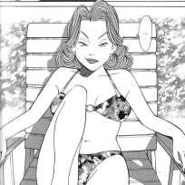 La progression graphique d'Urasawa, au fil des tomes d'Happy!, lui permet de mieux exprimer le ressentiment de Choko Ryugasaki.