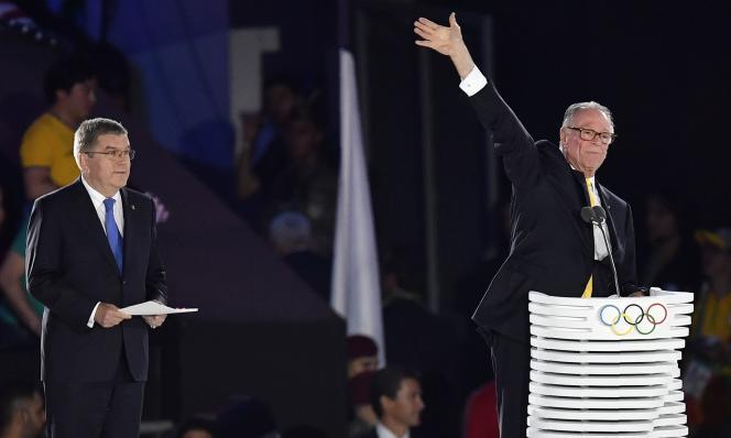 Les relations entre Thomas Bach (à gauche) et Carlos Arthur Nuzman, le président du comité d'organisation des Jeux paralympiques ne sont pas au beau fixe.
