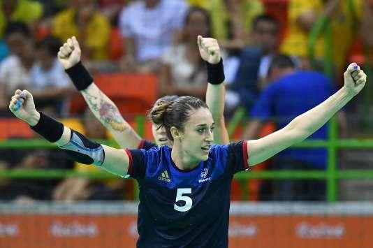 Camille Ayglon Saurina, le 6 août à Rio.
