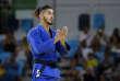 Le judoka Walide Khyar lors des Jeux de Rio en 2016.
