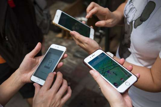 Le jeu« Pokémon Go» est sorti en juillet.