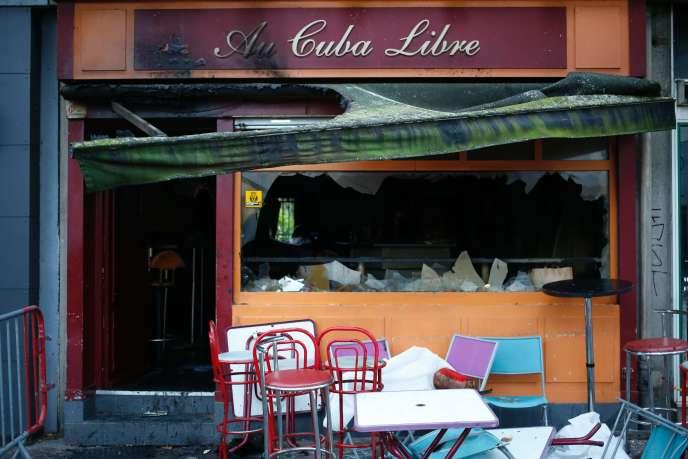 Au Cuba libre, où un incendie s'est déclaré le 6 août.