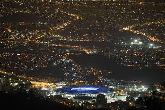 Le stade Maracana, qui a accueilli la cérémonie d'ouverture des Jeux olympiques de Rio, le 5 août.