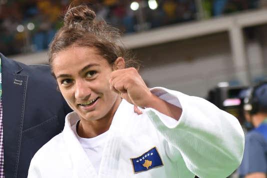 Majlinda Kelmendi, le 7 août à Rio.