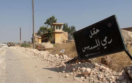 Le lieu de l'attentat se trouve à une cinquantaine de kilomètres de la ville d'Alep.