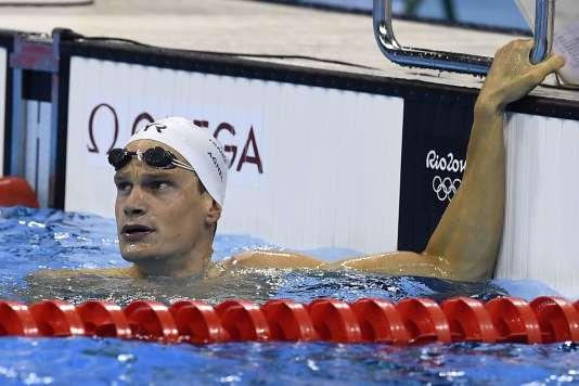 Yannick Agnel, le 7 août à Rio.