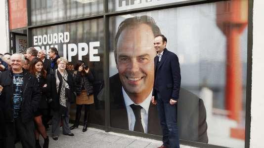 Edouard Philippe, maire les Républicains du Havre et« pote de droite» du réalisateur Laurent Cibien, homme de gauche.