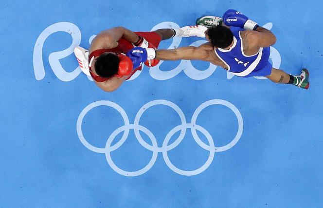 Lors des JO de Rio en 2016.