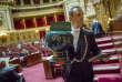 Premier jour d'examen du projet de loi travail au Sénat à Paris, le 13 juin 2016.