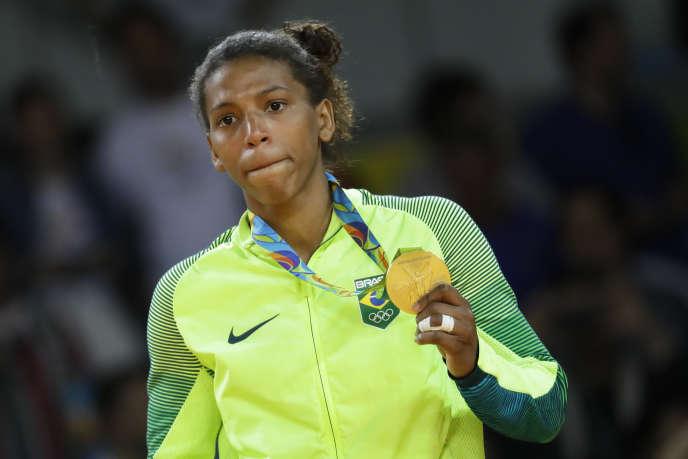 Rafaela Silva est la première championne olympique brésilienne des Jeux 2016.