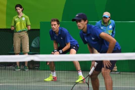 Nicolas Mahut et Pierre-Hugues Herbert, le 7 août, à Rio.