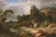 « Philoctète sur l'île de Lemnos», par Achille Etna Michallon (1796-1822), Musée Fabre de Montpellier.