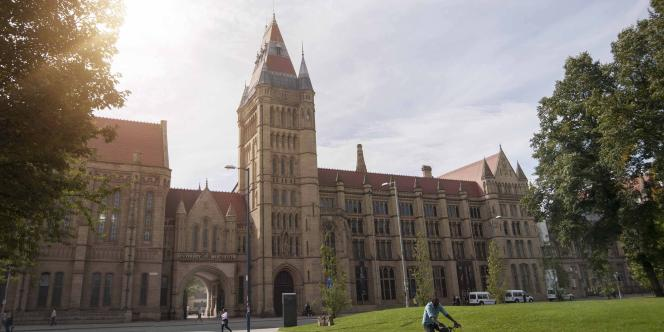 L'université de Manchester, qui heberge l'Institut de physique dans lequel Abass Roble travaille.