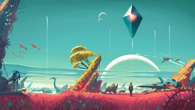 Image d'illustration pour le jeu« No Man's Sky», qui sort le 12 août sur PC.