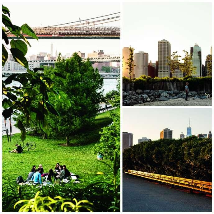 Le Brooklyn Bridge Park, à New York.