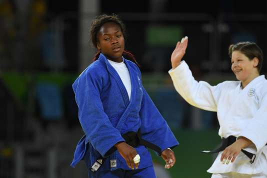 Clarisse Agbegnenou a été battue en finale des - 63 kg mardi.
