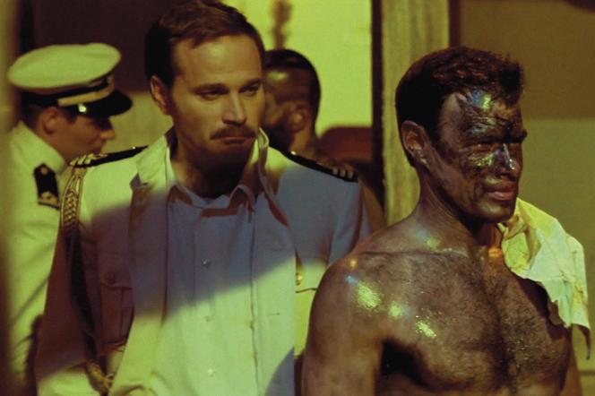 Franco Nero et Brad Davis dans « Querelle», de Rainer Werner Fassbinder (1982), d'après Jean Genet.