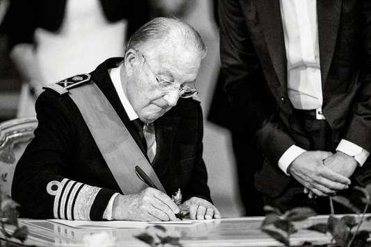 Albert II de Belgique.