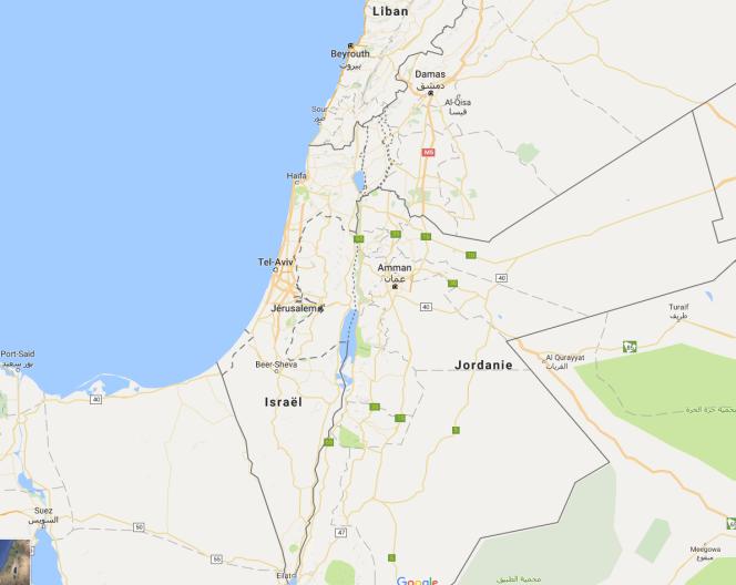 Le mot« Palestine» est effectivement absent de Google Maps.