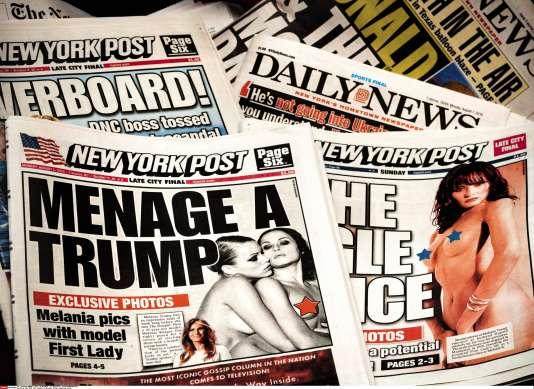 Les clichés scandaleux du photographe français Alé de Basseville, publiés les 31 juillet et 1er août 2016 par le «New York Post».