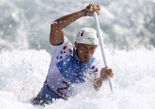 Denis Gargaud-Chanut, aux Jeux olympiques de Rio, le 9août 2016.