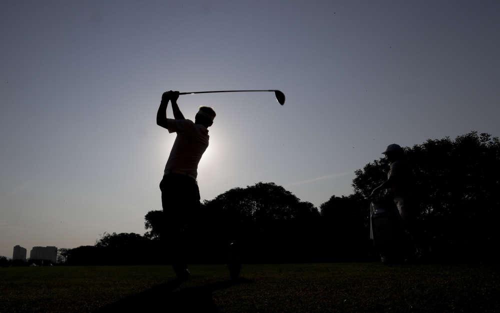Le golfeur danois Soren Kjeldsen le 9 août.