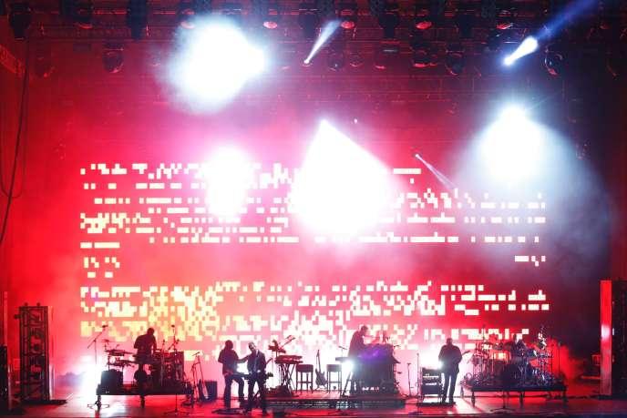 Un concert de Massive Attack et des Young Fathers au festival Oya, à Oslo, le 10 août 2016.