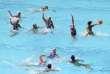 L'équipe de France féminine de water-polo a remporté deux médailles de bronze aux championnats d'Europe en 1987 et 1989. Depuis, rien. Lors des derniers championnats du monde, la France a fini onzième.