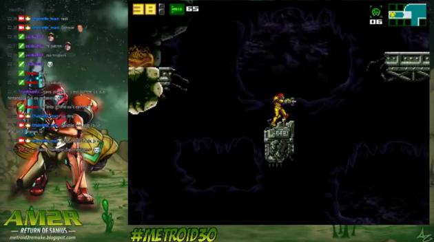 Des joueurs ont testé le remake de «Metroid II» sur la plate-forme de streaming Twitch.