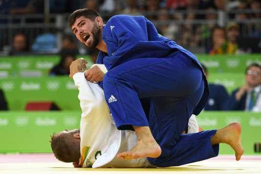 Cyrille Maret le 11 août à Rio