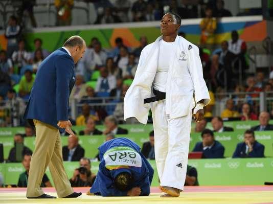 Audrey Tcheuméo a été battue jeudi en finale de la catégorie des moins de 78 kg.