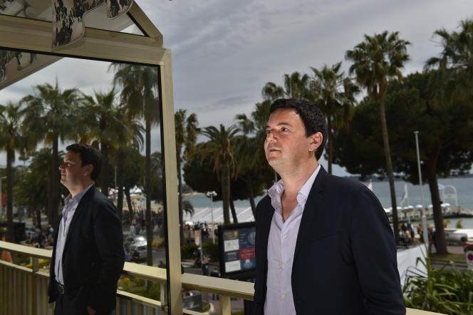 Thomas Piketty à Cannes le 13 mai 2016.